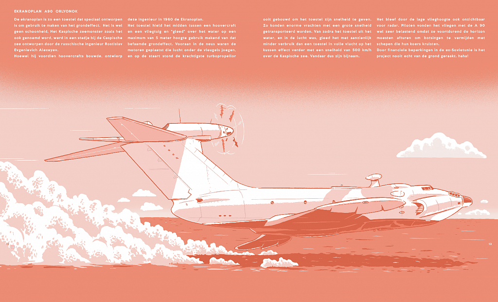screenshots of  my upcoming book on airplanes!