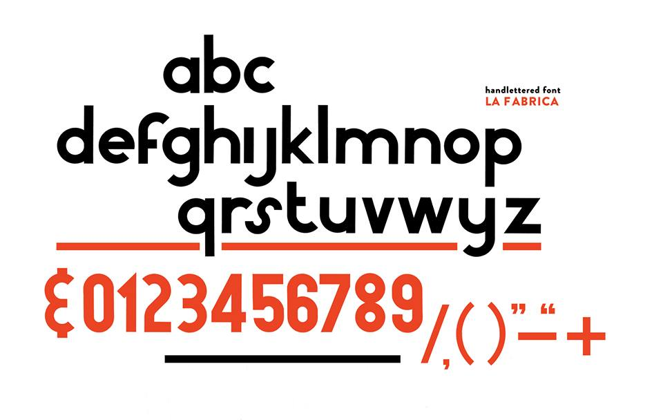 my personal hand letterd font