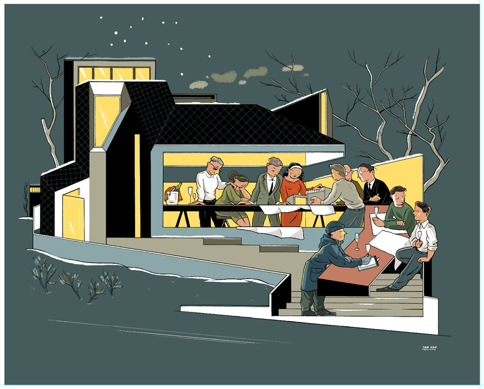 aim architects new years card